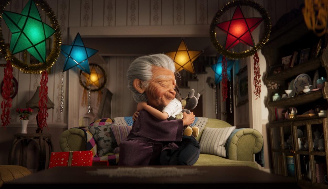 Itt a Disney karácsonyi reklámja