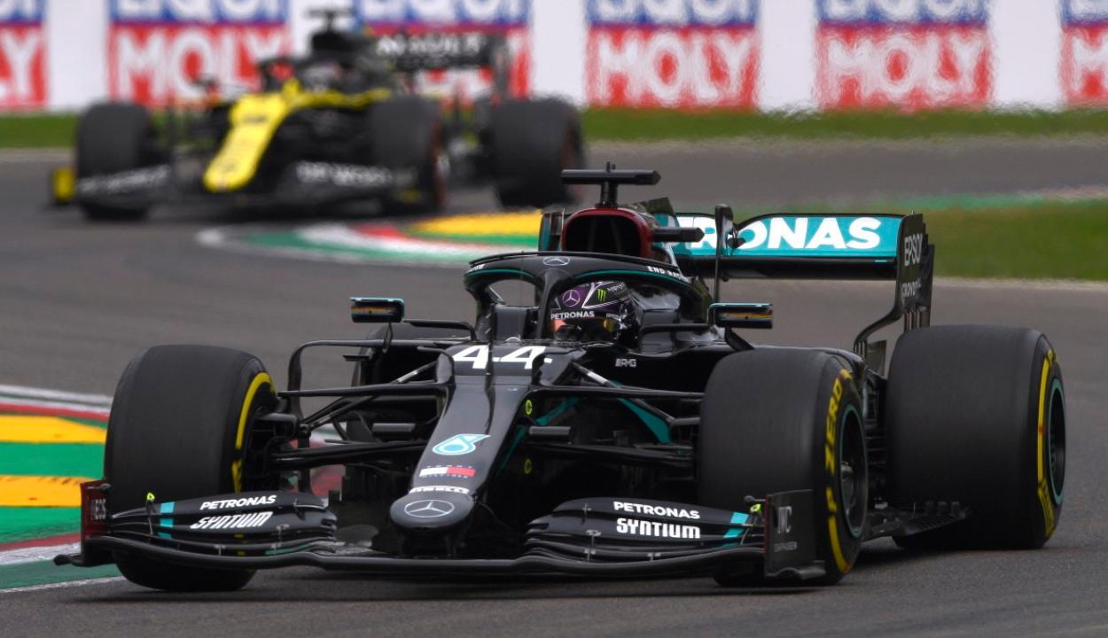 Forma-1: Hamilton ismét nyert, világbajnok a Mercedes