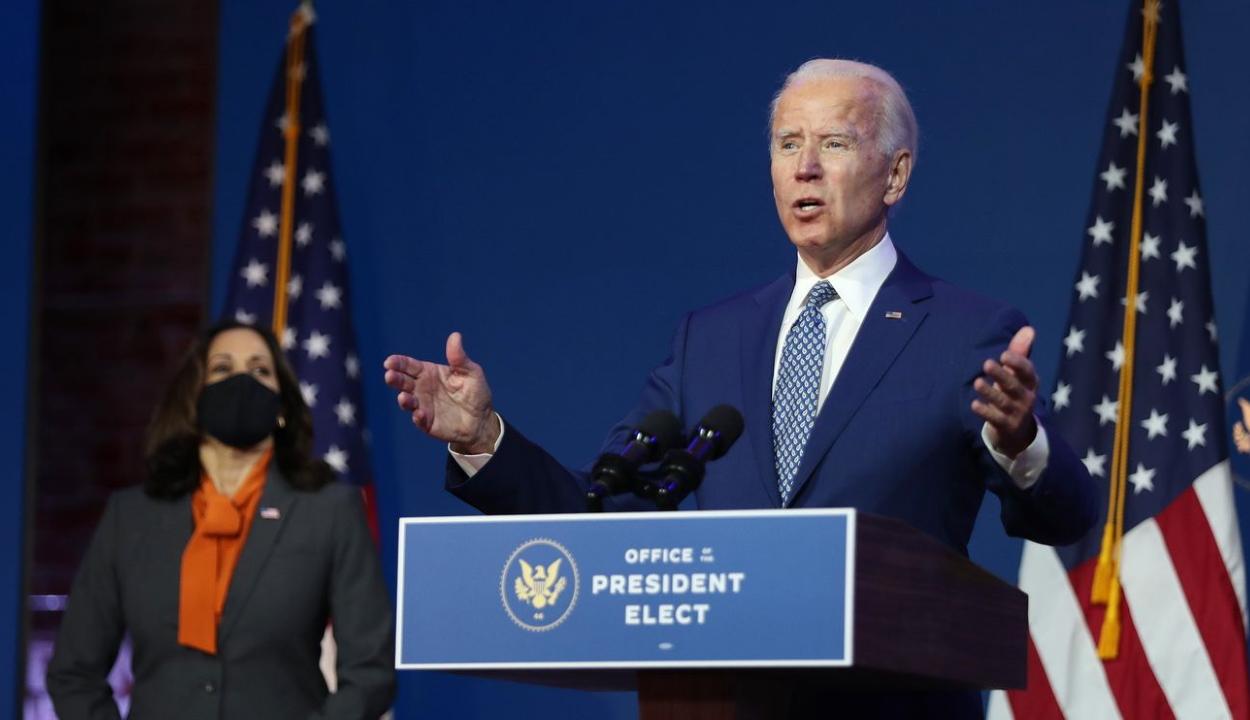 Joe Biden szerint kínos, amit Donald Trump csinál