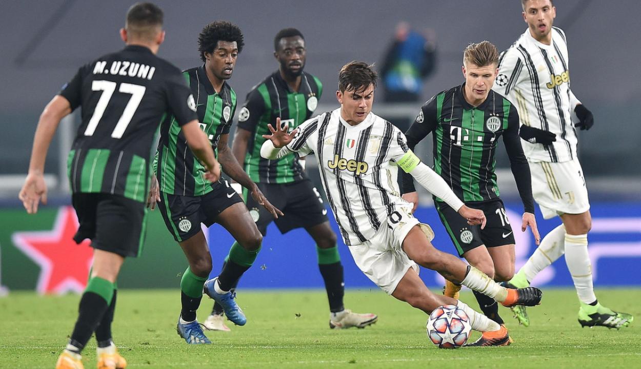 Bajnokok Ligája: hosszabbításban kapott ki a Fradi Torinóban