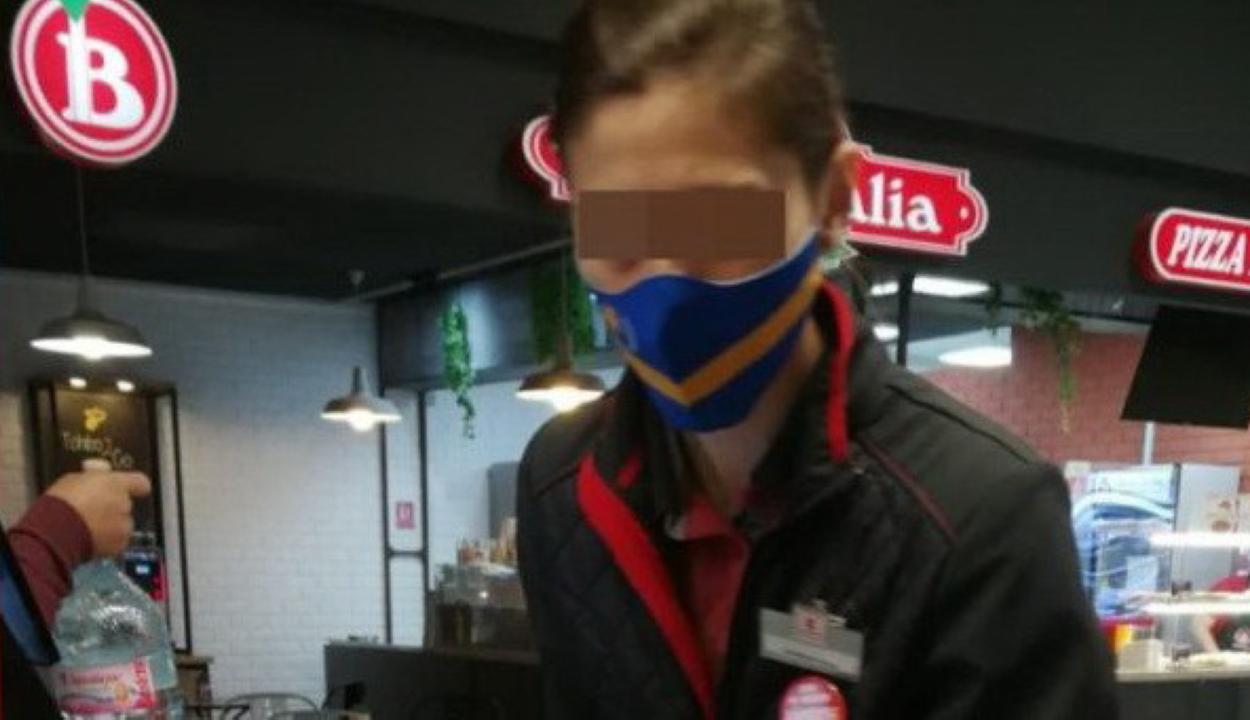 Egy kézdivásárhelyi pénztáros székely szimbólumos maszkját kifogásolja Dan Tanasă
