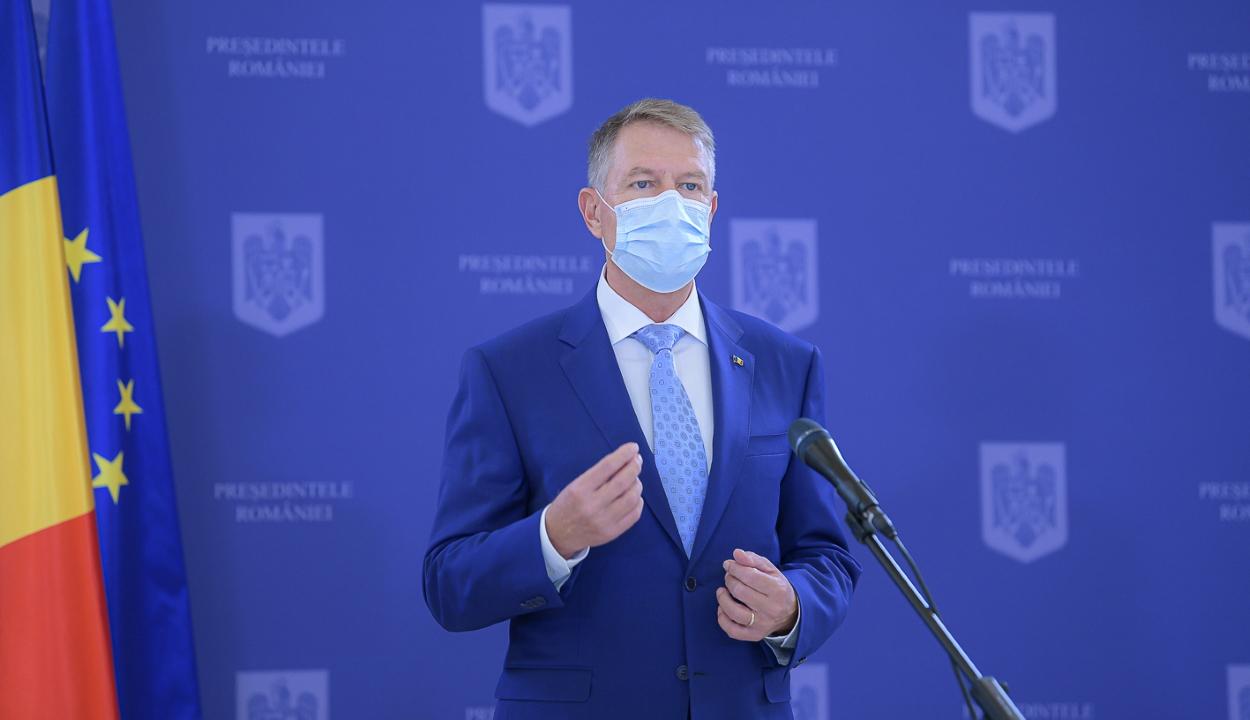 Iohannis: az oltási kampány nemzetbiztonsági ügy