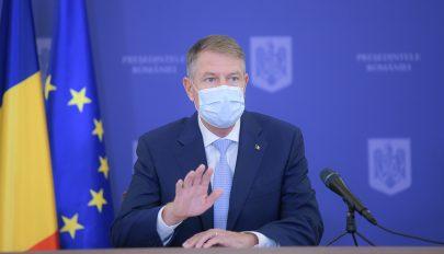 Iohannis: csökkenő tendenciát mutat az új esetek száma, nem lesz országos karantén