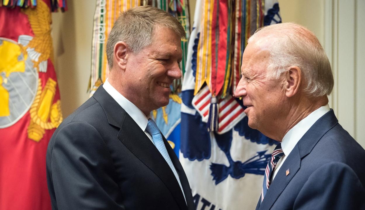Klaus Iohannis gratulált az Amerikai Egyesült Államok megválasztott elnökének
