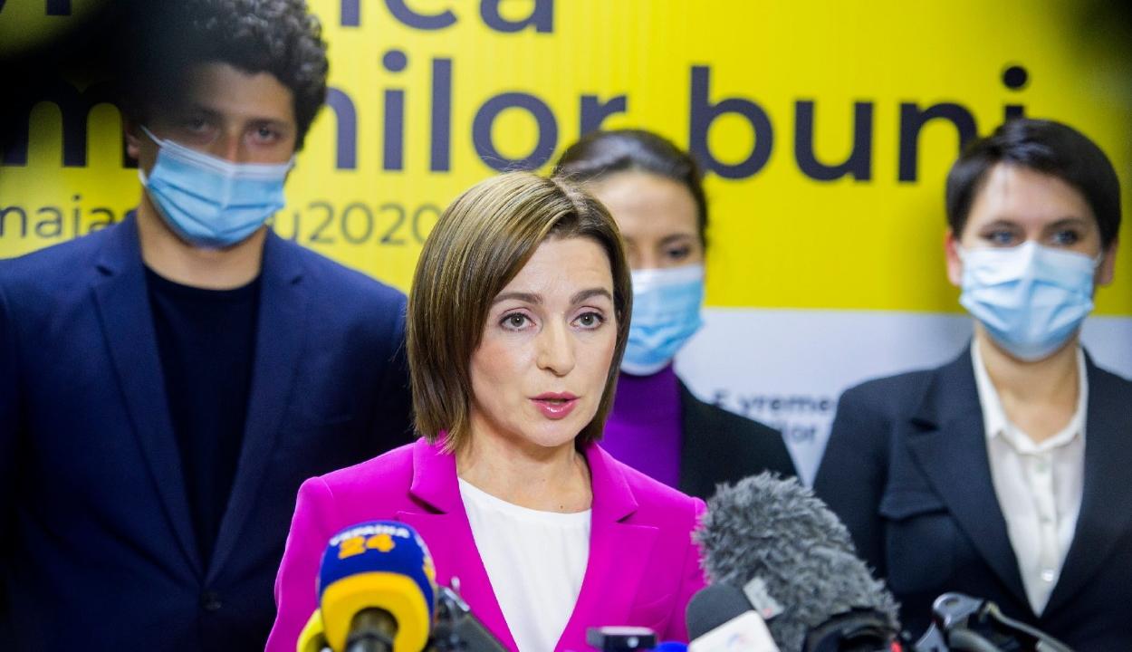 Az Európa-barát Maia Sandu nyerte az elnökválasztást Moldovában