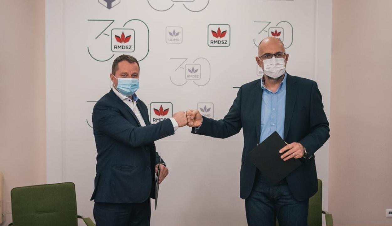 Együttműködési megállapodást kötött az RMDSZ és az EMSZ
