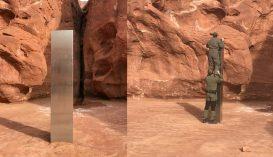 Rejtélyes fémobjektumra bukkant egy állatszámláló helikopter