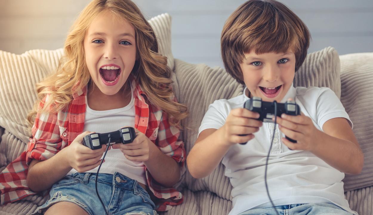 Felmérés: a 6 és 15 év közötti gyerekek háromnegyede videójátékozik