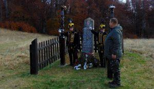 Tisztelgés a Körtövés mezején nyugvó honvédek emlékművénél