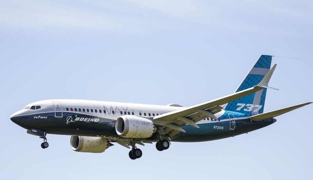 Újra repült egy Boeing 737 Max