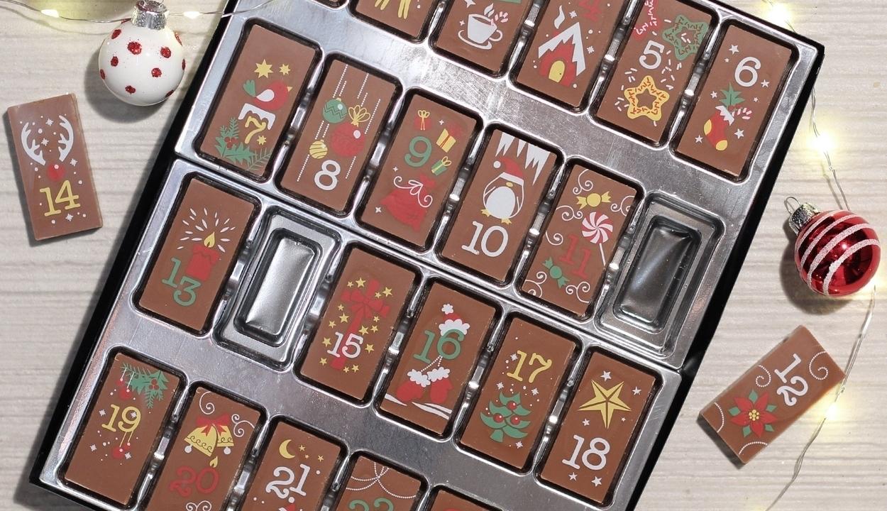 Bocsánatkérést várnak az adventi kalendárium vásárlói, mert 4 napon át kókuszos csoki volt az ajtó mögött