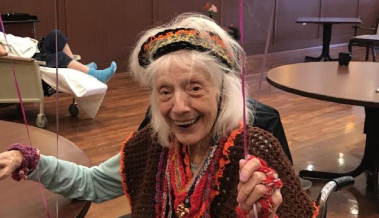 Egy 102 éves nő kétszer is legyőzte a koronavírust