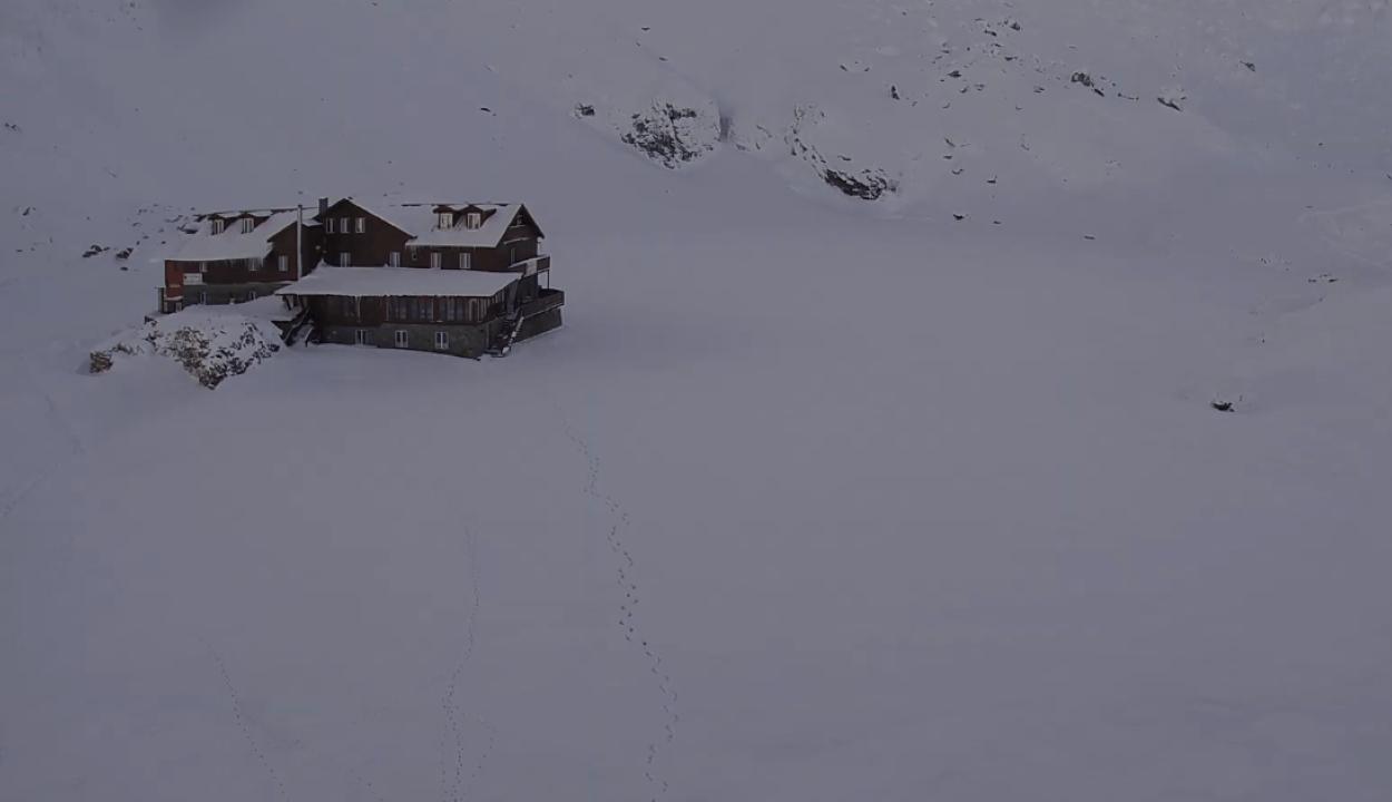 Rekord hideget mértek a Bâlea-tónál