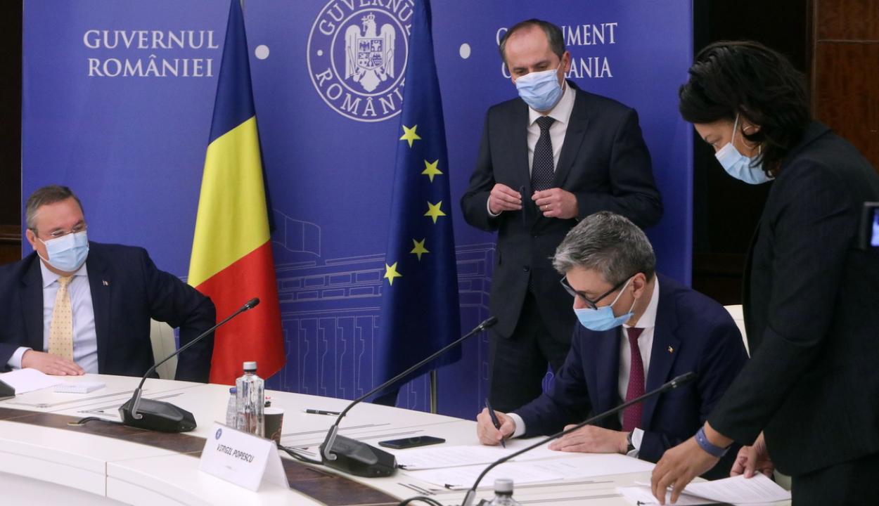 Aláírták a román-amerikai kormányközi megállapodást a cernavodai atomerőmű bővítéséről