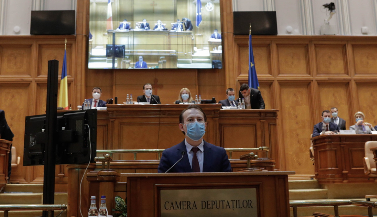 Bizalmat szavazott a parlament Florin Cîţu kormányának