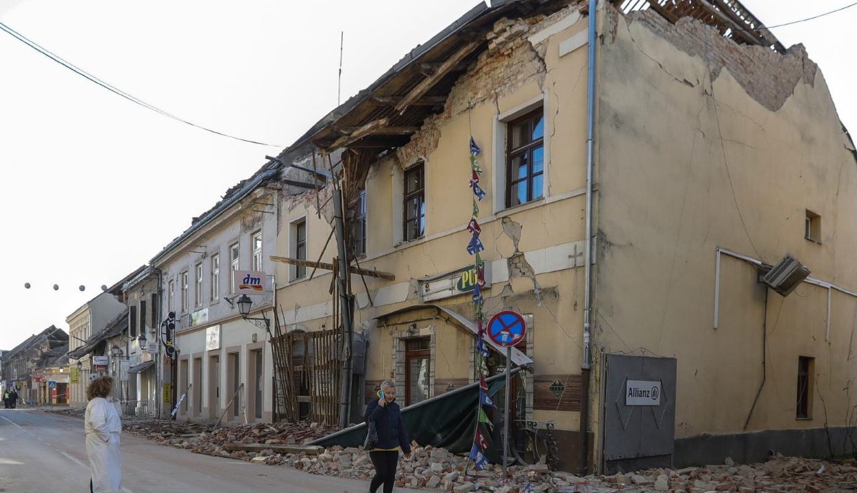 Románia segélyt küld a földrengés sújtotta Horvátországnak