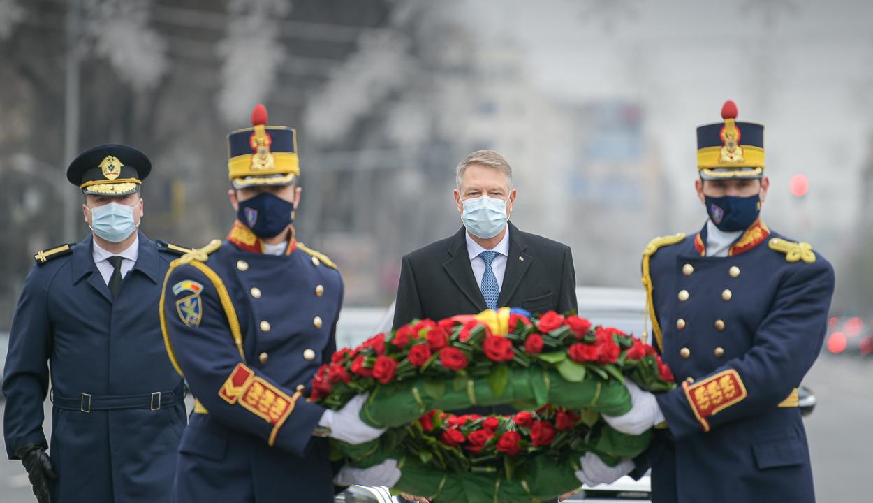 Ünnepi üzenetben emlékezik meg Klaus Iohannis a decemberi forradalom áldozatairól