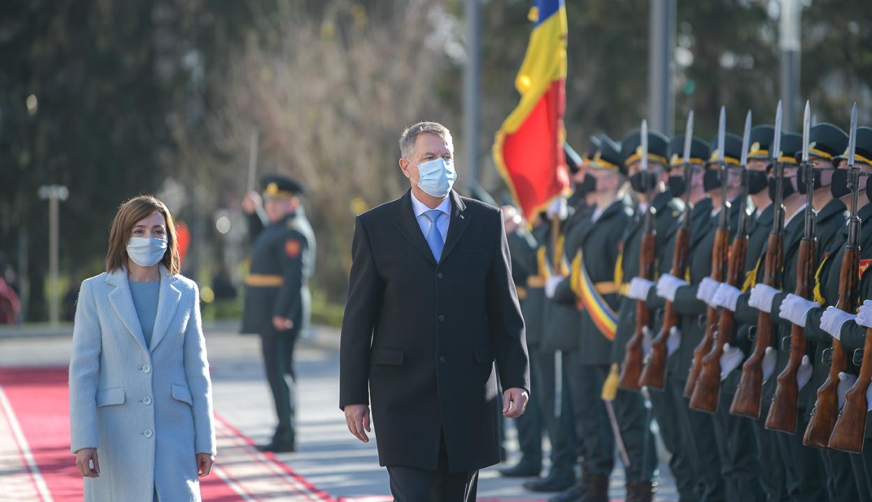 A Moldovai Köztársaságban tesz hivatalos látogatást Klaus Iohannis