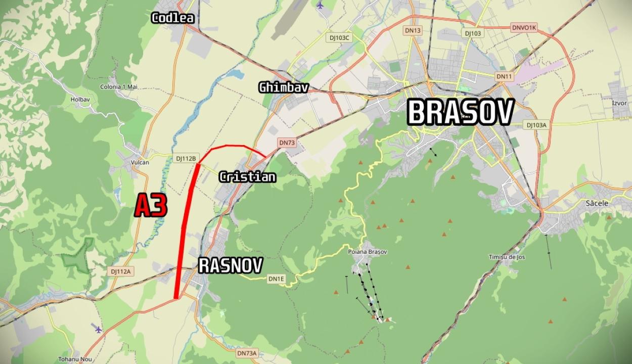 FRISSÍTVE: Csütörtökön átadják a Ploieşti – Brassó autópálya első szakaszát