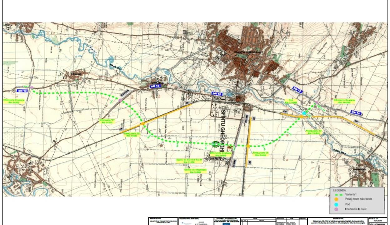Kiírták a közbeszerzést Sepsiszentgyörgy terelőútjának megépítésére