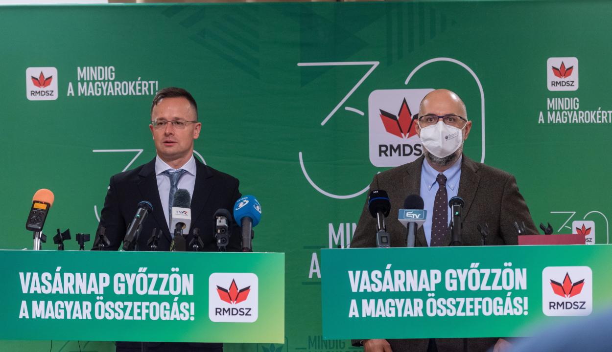Szijjártó: jót tenne a magyar-román viszonynak, ha az RMDSZ erősebb lenne a parlamentben