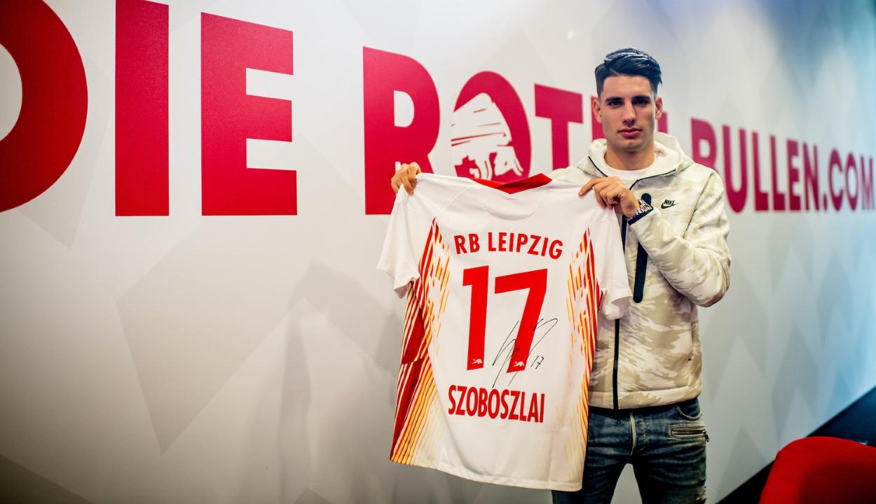 Szoboszlai Dominik az RB Leipzighez igazolt