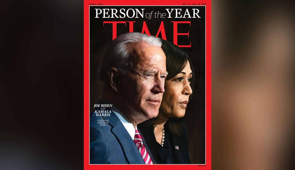 Joe Biden és Kamala Harris lett az év embere a Time magazinnál