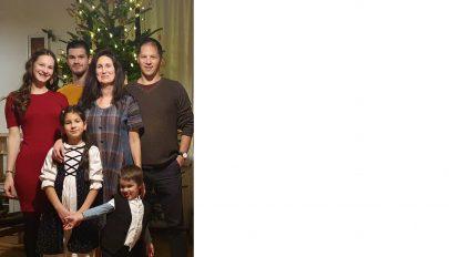 A család a földön tartja