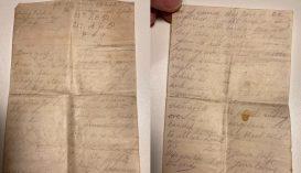 Első világháborús szerelmeslevelek kerültek vissza a címzett családjához