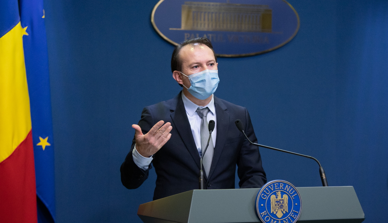 Cîţu: akár napi 150 ezer személy is immunizálható Romániában, ha van elég oltóanyag