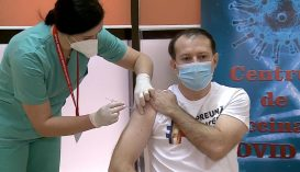 Megkapta a koronavírus elleni védőoltást Florin Cîţu miniszterelnök