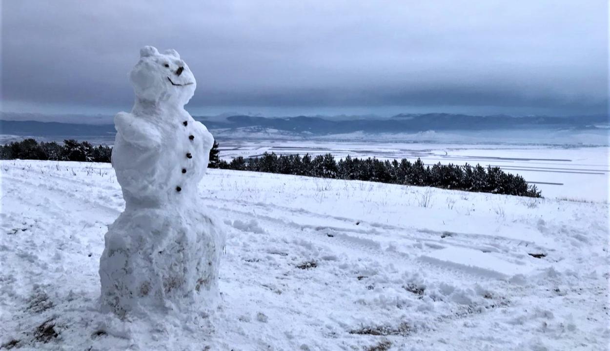 Hóember a Perkőn