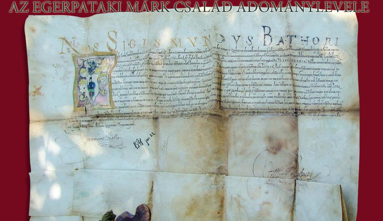 430 éves a Márk-adománylevél
