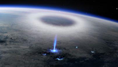 Különleges fényjelenséget észleltek a Nemzetközi Űrállomásról