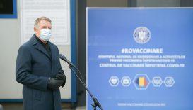 Iohannis: sokan szeretnék beoltatni magukat, a napokban számos oltásközpont fog megnyílni