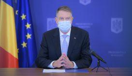 Ismét oltakozásra buzdított Klaus Iohannis államfő