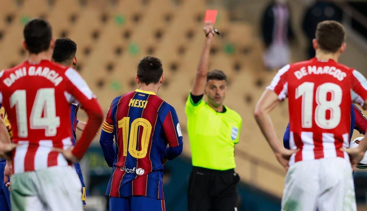 Messit akár 12 meccsre is eltilthatják