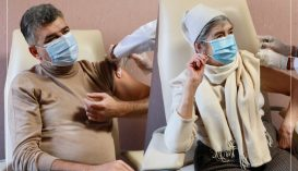 A PSD elnöke is beoltatta magát koronavírus ellen, de csak édesanyja után