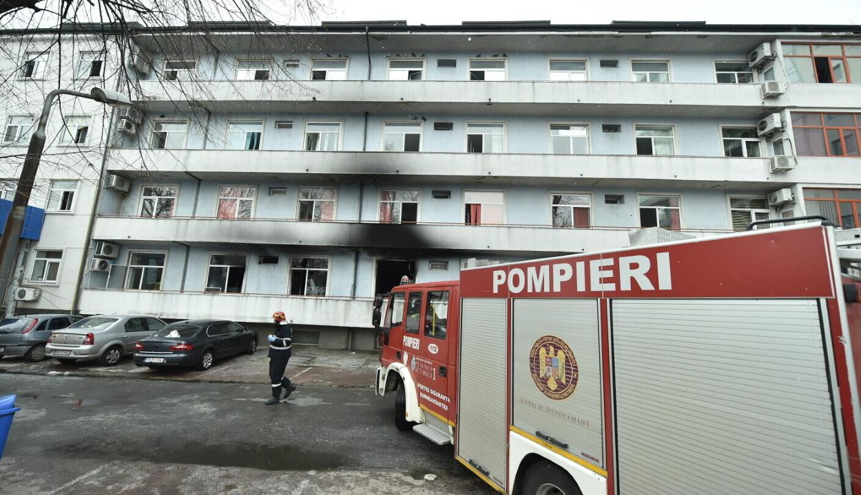 Tizenegyre emelkedett a bukaresti kórháztűz áldozatainak száma