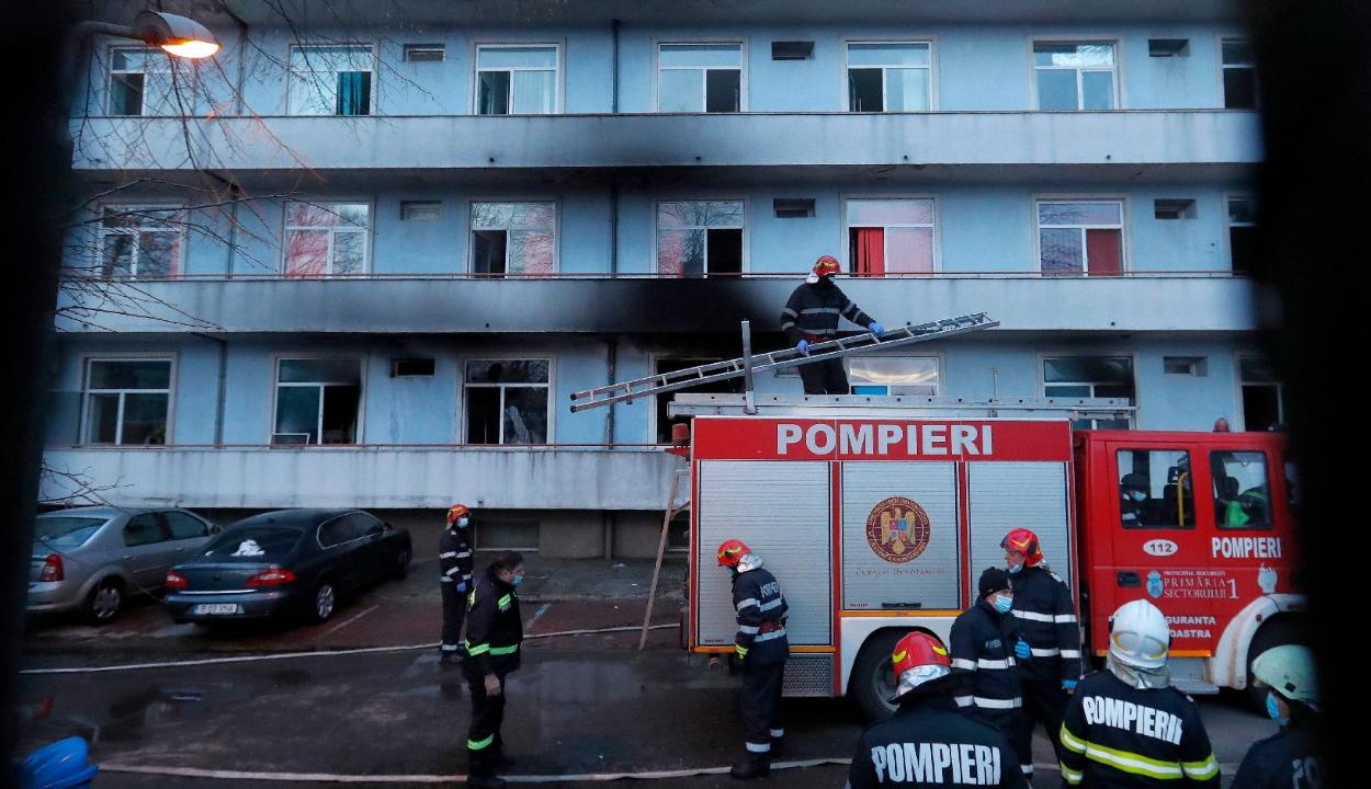 Elhunyt még két beteg a Matei Balş intézetből a tűzeset miatt más kórházakba szállítottak közül
