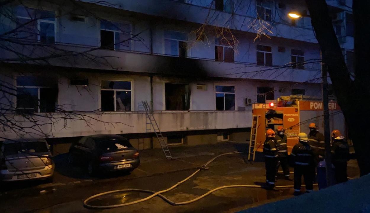 FRISSÍTVE: Tűz ütött ki a Matei Balş intézetben, öt személy meghalt