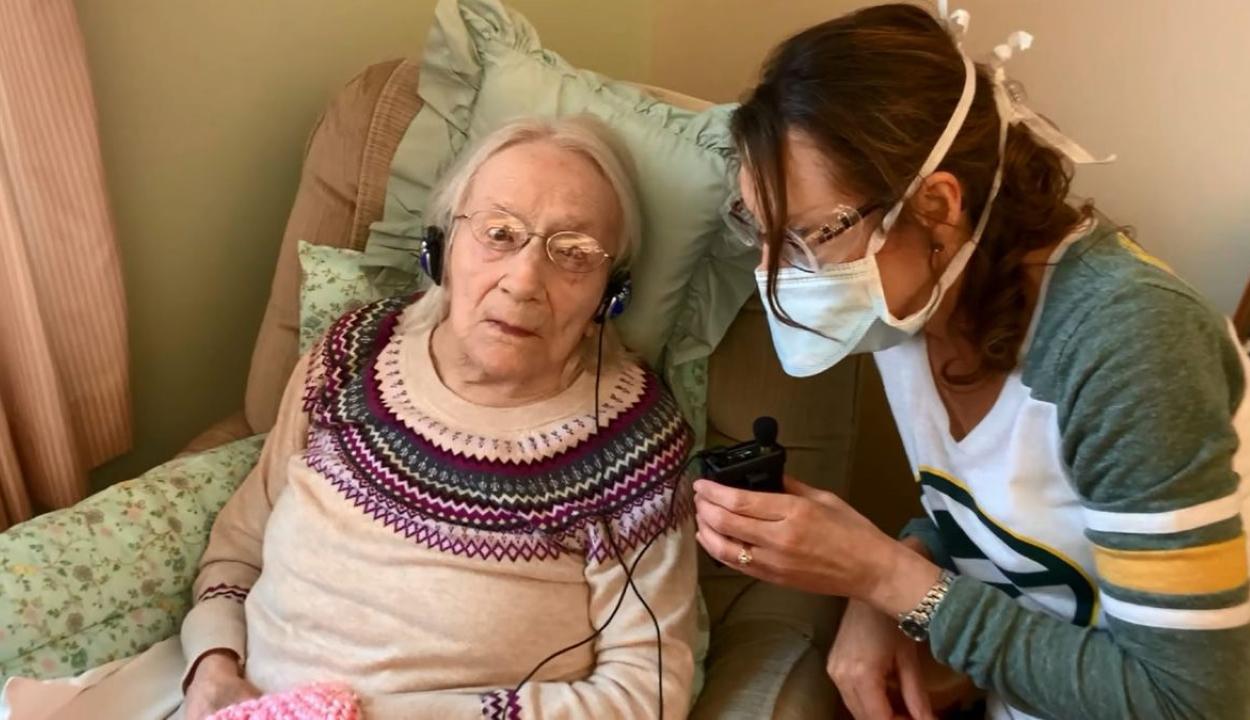 Felgyógyult a Covid19-ből egy 108 éves nő