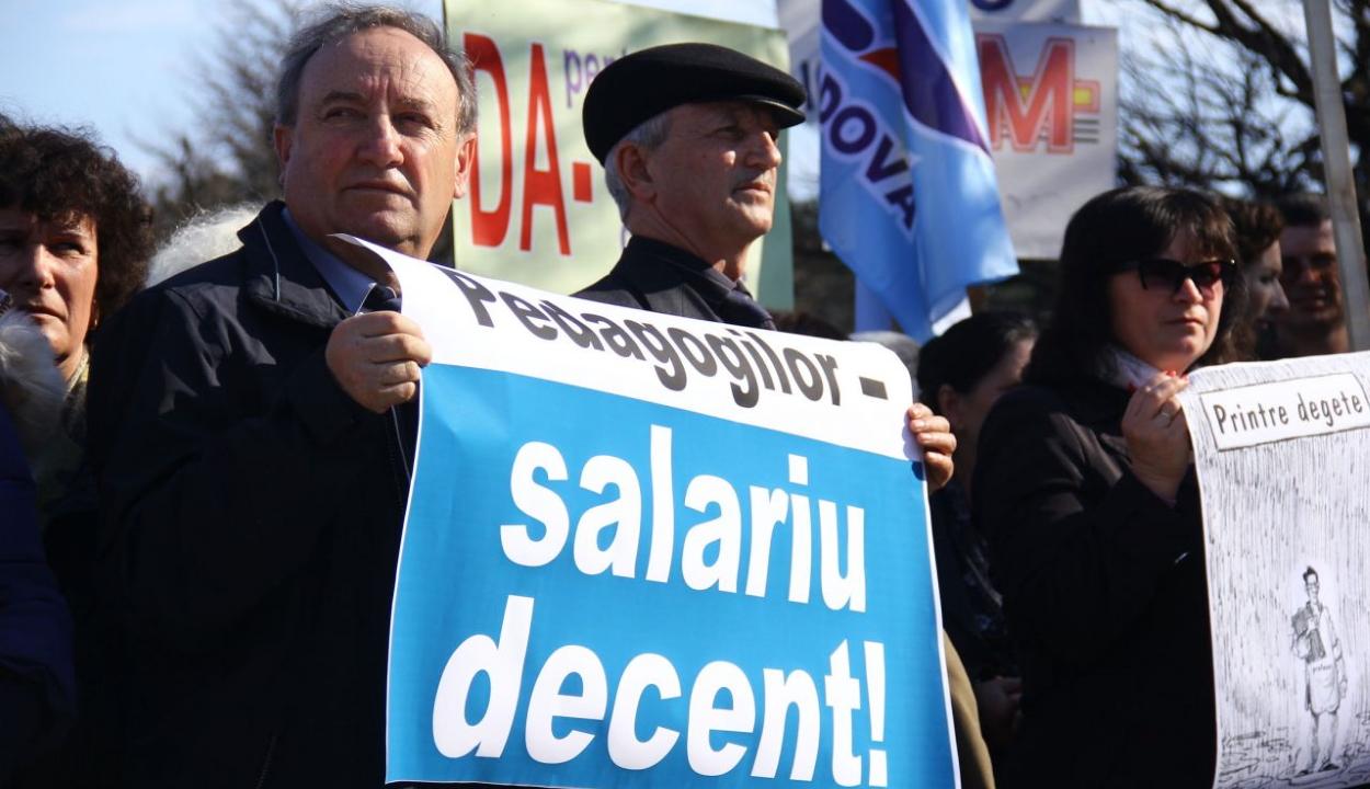 Tiltakozásokkal fenyegetőzik a Spiru Haret szakszervezeti szövetség