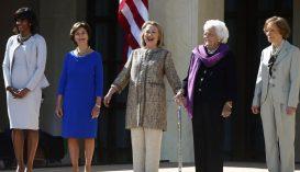 Kiállítás az amerikai first ladykről