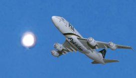 Ufót filmezett egy utasszállító gép pilótája