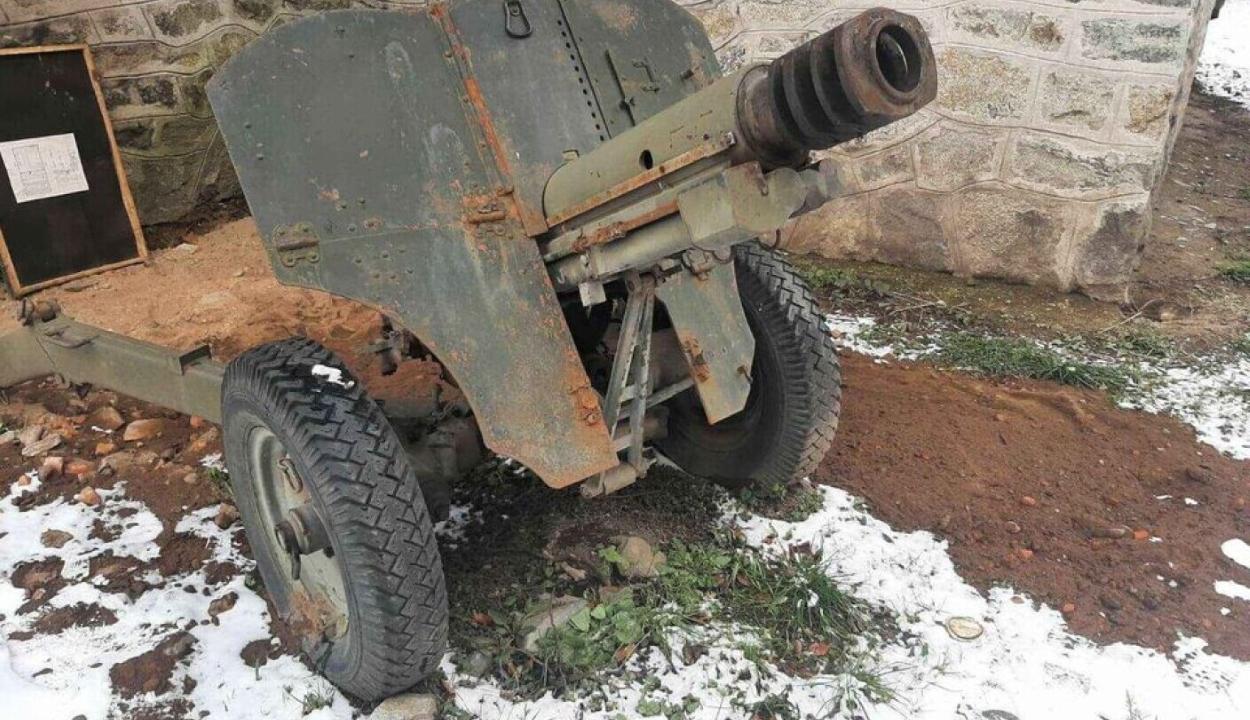 Második világháborús ágyút hirdetett meg a Facebook-on egy craiovai férfi