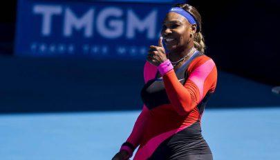 Serena legyűrte Simonát