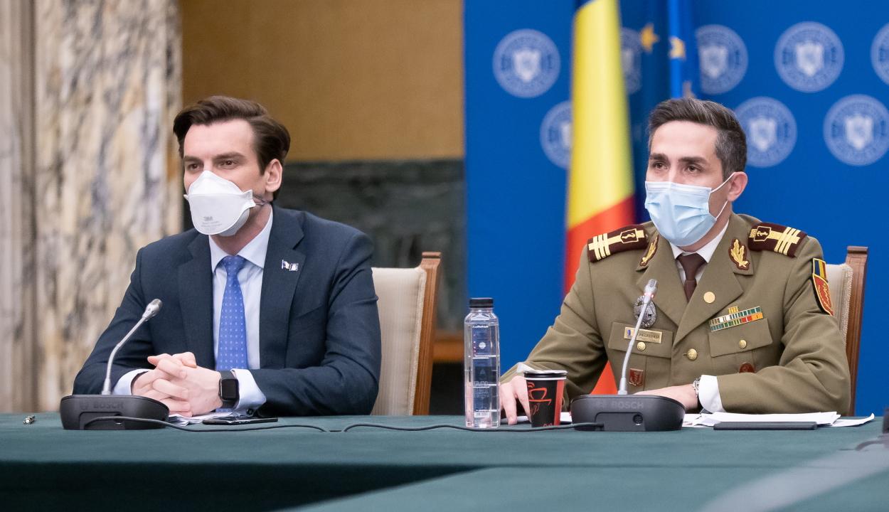 Gheorghiţă: a COVID-19 elleni oltáskampány harmadik szakasza áprilisban kezdődhet el