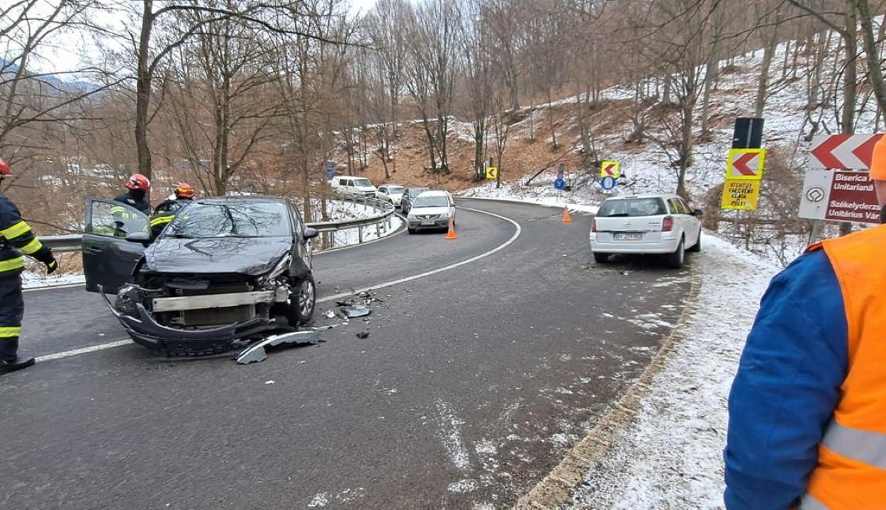 Két baleset is történt szerdán Sepsibükszád közelében