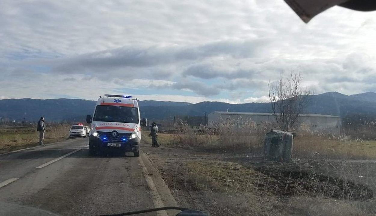 Három autó ütközött Szentgyörgy és Kovászna között